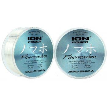 Флюрокарбоновый поводковый материал Awa'S ION POWER FLUOROCARBON 100% PRO-X 50м 0,350мм