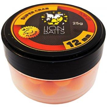 Fishberry & Lion Baits - официальный рыболовный магазин -> Насадки и прикормки Бойлы Плавающие -> 12 мм -> LION BAITS бойл (pop-up) 12 мм SUPER CRAB - 25 гр