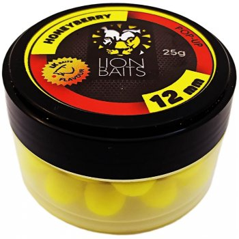 Fishberry & Lion Baits - официальный рыболовный магазин -> Насадки и прикормки Бойлы Плавающие -> 12 мм -> LION BAITS бойл (pop-up) 12 мм HONEYBERRY - 25 гр
