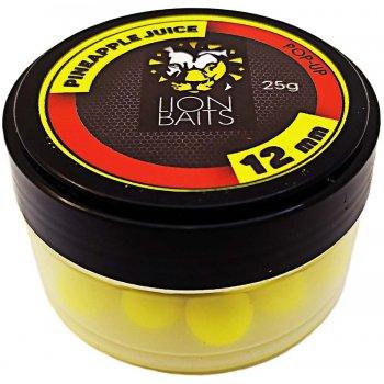 Fishberry & Lion Baits - официальный рыболовный магазин -> Насадки и прикормки Бойлы Плавающие -> 12 мм -> LION BAITS бойл (pop-up) 12 мм PINEAPPLE JUICE - 25 гр