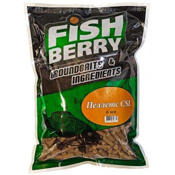 FISHBERRY Пеллетс CSL быстрорастворимый (6мм) - 1 кг