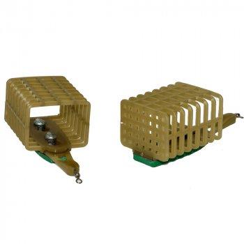 Кормушка Caiman сетка квадратная без дна 23/35/44 мм 70 гр 186412