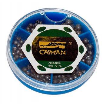 Набор грузил Caiman дробинка маленькая коробка 0.20-0.80 гр 61022