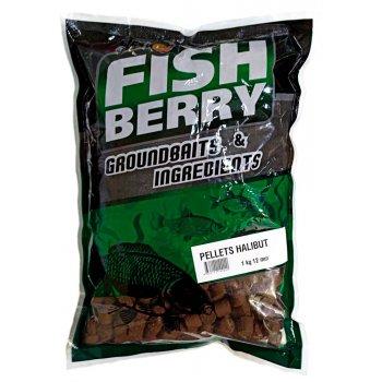 Пеллетс рыболовный медленно растворимый Fishberry (12 мм) бордовый - 1кг