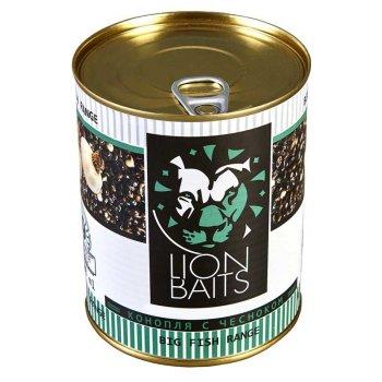 Lion Baits Зерновая смесь Hempseed with Garlic