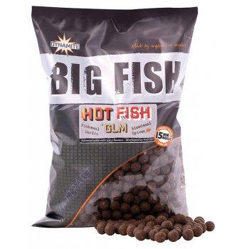 Бойлы тонущие Dynamite Baits Hot Fish & GLM (Острая рыба ракушка) 15мм 1,8кг DY1518