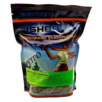Пеллетс рыболовный медленно растворимый Fishberry миксованный (Mixed) - 750 гр
