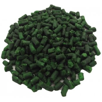 Пеллетс рыболовный медленно растворимый Lion Baits (2 мм) зеленый бетаин - 15кг